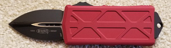 Microtech Exocet Red Standard 157-1 RD  $265.00