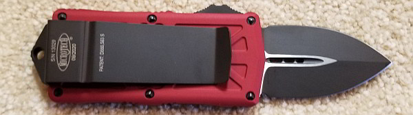 Microtech Exocet Red Standard 157-1 RD