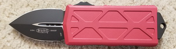 Microtech Exocet Red Standard