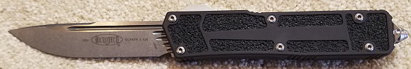 Microtech Scarab II S/E Stonewash Standard 278-10