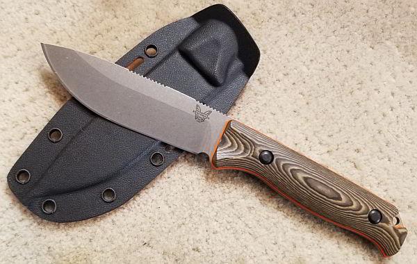 Benchmade Saddle Mountain Skinner
